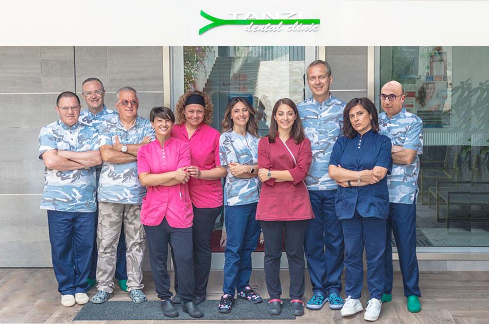 Tanzi Dental Clinic - Staff al completo